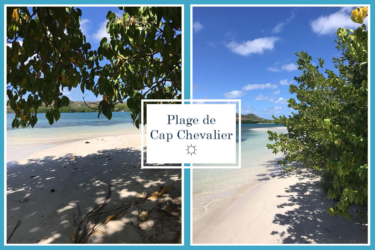 Plage Cap Chevalier Martinique