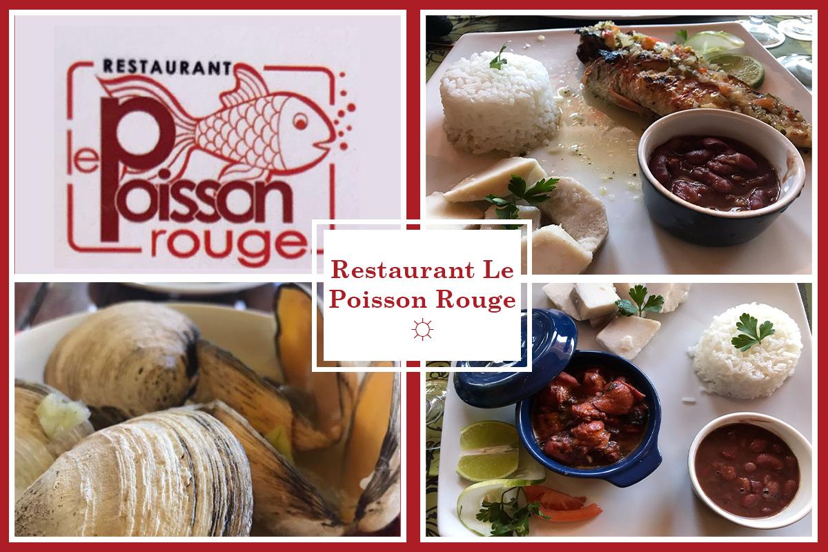 Restaurant le Poisson Rouge Martinique