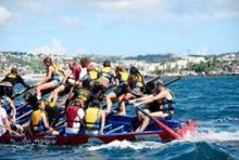 initiation yole Martinique