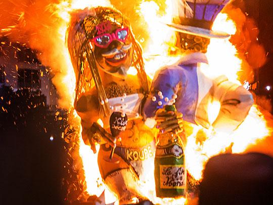 Image result for burning vaval  martinique carnival