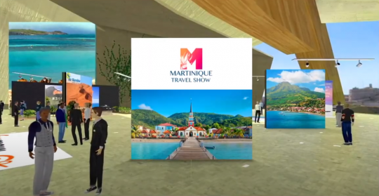 Martinique Travel Show Plateforme 3D