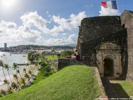 La baie de Fort-de-France